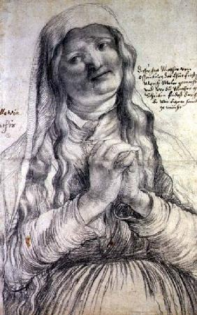 An Elderly Woman with Clasped Hands c.1512