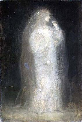 The Bride, or Novice taking the Veil c.1887