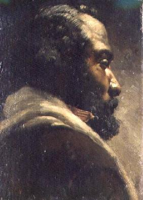 Head of a Negro (panel)