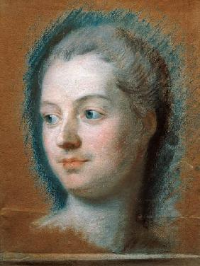 Portrait of Madame de Pompadour (1721-64)