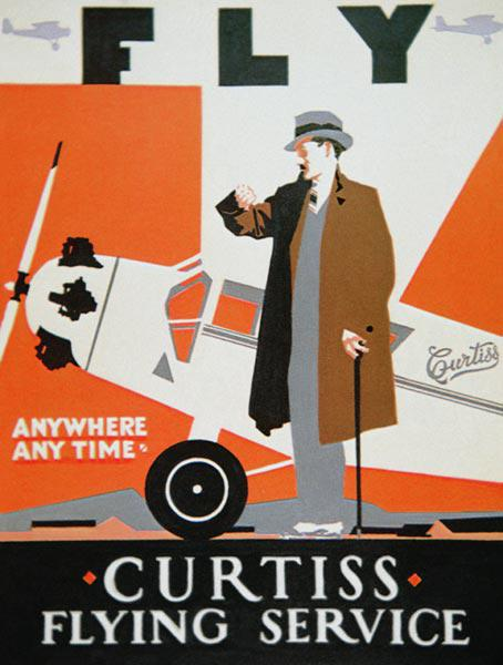 American aviation poster 1928