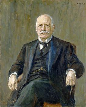 Prince Bernhard von Bulow (1849-1929) 1917 (oil on canvas) 15th