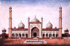 Jummah Musjeed, Delhi c.1840  on
