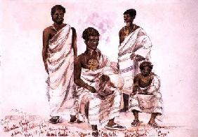'C.C.C. Ashantee Chiefs and King Coffe Kollally Son' 1874