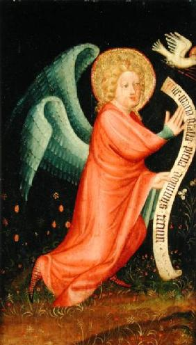 The Angel of the Annunciation, from The Harvester Altar c.1410