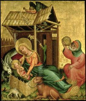 The Nativity, from the Buxtehude Altar 1400-10