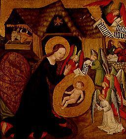 Geburt Christi. Altarflügel - Meister von Großraigern ...