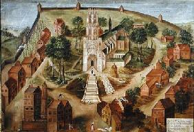 The Church of Saint-Gery, Cambrai, on the Mont des Boeufs 1543