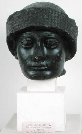 Head of Gudea, Prince of Lagesh, from Telloh (ancient Girsu) Neo-Sumerian c.2150 BC