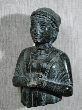 Princess of the Gudea family, 'The Woman with the Shawl' from Telloh (ancient Girsu))  c.2130-21