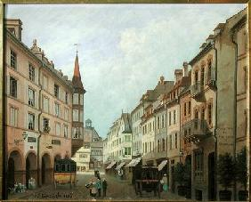 The Arcades, Grand Rue, Colmar 1876