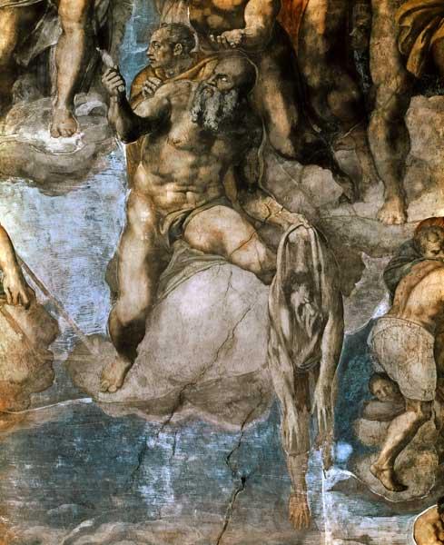 Sistine Chapel Ceiling The Last Judgeme Michelangelo