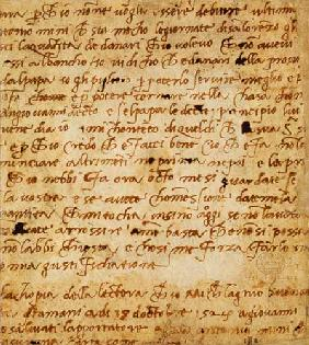 1895-9-15-503 W.34v Page of handwriting 16th c.