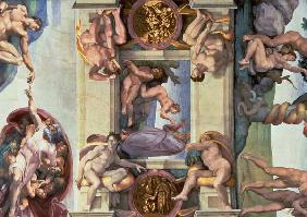 Sistine Chapel Ceiling (1508-12): The Creation of Eve