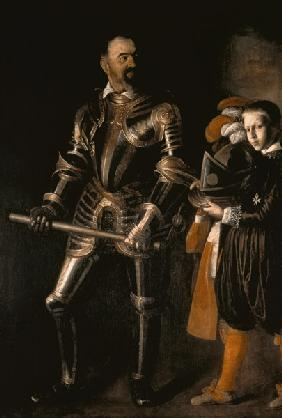 Portrait of Alof de Wignacourt, Grand Master of the Order of Malta from 1601-22 (1547-1622), with hi c.1608