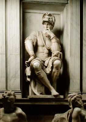 Statue of Lorenzo de' Medici (1449-92) from the Tomb of Lorenzo de' Medici 1520-24