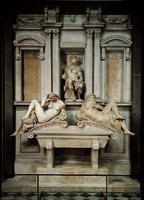 Tomb of Giuliano de' Medici 1520-34