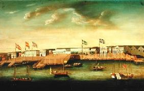 Foreign Factories at Canton 1804