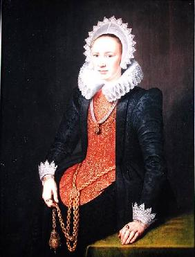 Portrait of a Lady aged 29 1615