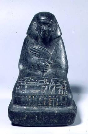 Seated figure of Senpu