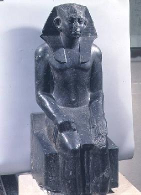 Statue of Sesostris III (1887-49 BC) as a young man