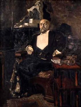 Portrait of S. Mamontov, the Founder of the First Private Opera 1897
