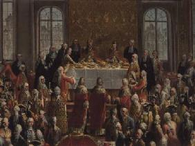 The Coronation Banquet of Joseph II (1741-90), Emperor of Germany 1764