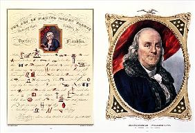 Benjamin Franklin (1706-90) 1847  (see also 210044)