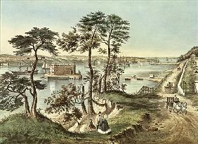 Staten Island and the Narrows from Fort Hamilton