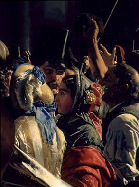 Ludovico Manin and Nicolo Tommaseo Liberated (detail)