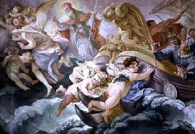The Storm Miraculously Calmed on Contact with the Medallion of Pius V (1504-72)