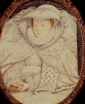 Mary Queen of Scots (1542-87) as a Widow
