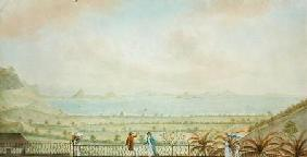 View in the Lesser Antilles c.1785  an