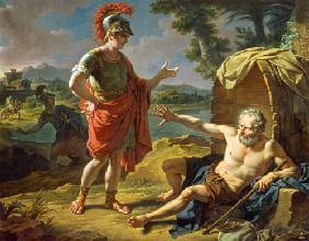 Alexander and Diogenes 1818
