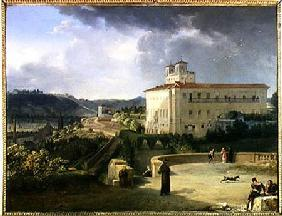 View of the Villa Medici, Rome 1813
