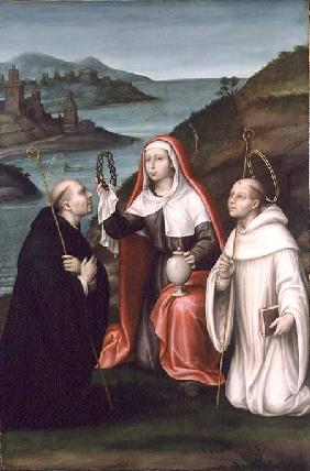 St. Mary Magdalene with St. Dominic and St. Bernard c.1580