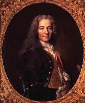 Portrait of Voltaire (1694-1778) aged 23 1728