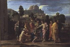 The Blind of Jericho, or Christ Healing the Blind 1650