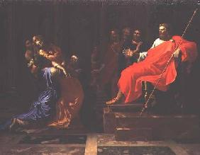 Esther before Ahasuerus late 1650s