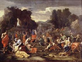 The Gathering of Manna c.1637-9