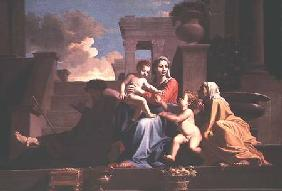 Holy Family on the Steps c. 1648