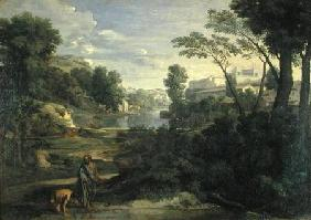 Landscape with Diogenes 1648