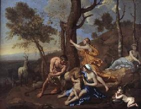 The Nurture of Jupiter mid-1630s