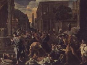 The Plague of Ashdod, or The Philistines Struck by the Plague 1630-31