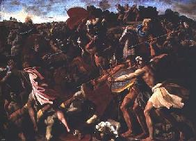 Victory of Joshua over the Amalekites 1625-6