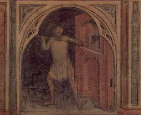 The Baker, from 'The Working World' cycle after Giotto c.1450