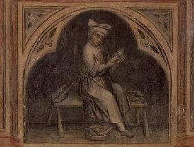 The Cobbler, from 'The Working World' cycle after Giotto c.1450