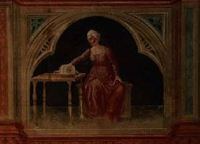 Lady in Waiting, after Giotto c.1450