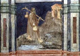 The Pilgrim, after Giotto c.1450