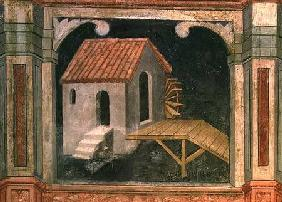Watermill, from 'The Working World' cycle after Giotto c.1450